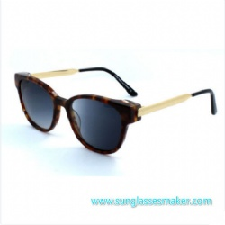 Metal Sunglasses with AC Lens (C0045)