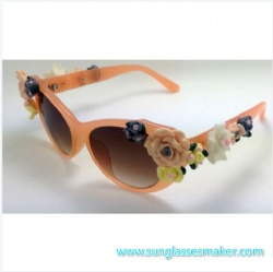 Attractive Design Fashion Sunglasses (SZ430)