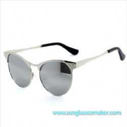 Metal Sunglasses , High Quality Sunglasses, Mirror Sunglasses Cy0081