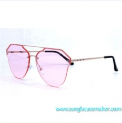 Italy Design High Quality Fashion Metal Frame Sunglasses Ce and FDA