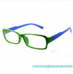 Color Square Woman Plastic Optical Frame