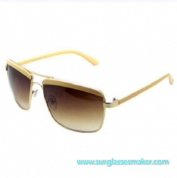 High-End Metalfashion Sunglasses (SZ2011)