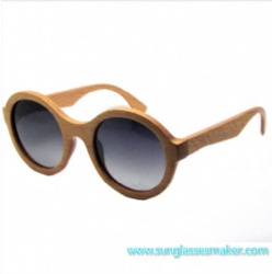 Wooden Fashion Sunglasses (SZ5690-2)